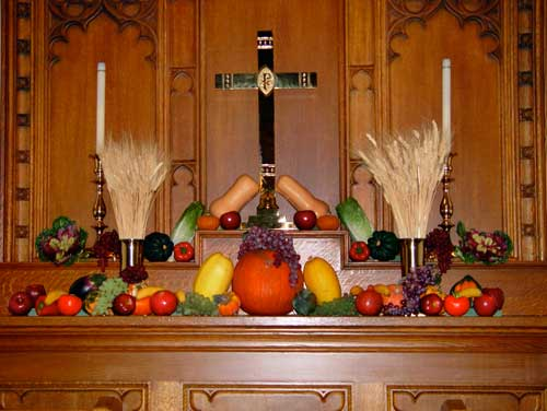 A special autumn presentation by our Altar Guild