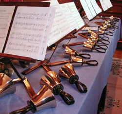 Join our choir  or bell choir  led by our musical director Carol Dixon. Rehearsals are Thursday evenings at 7:30pm.