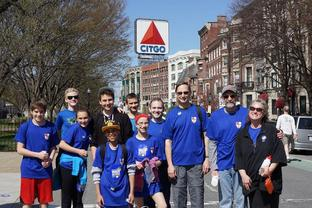 Team Trinity on The Walk for Hunger